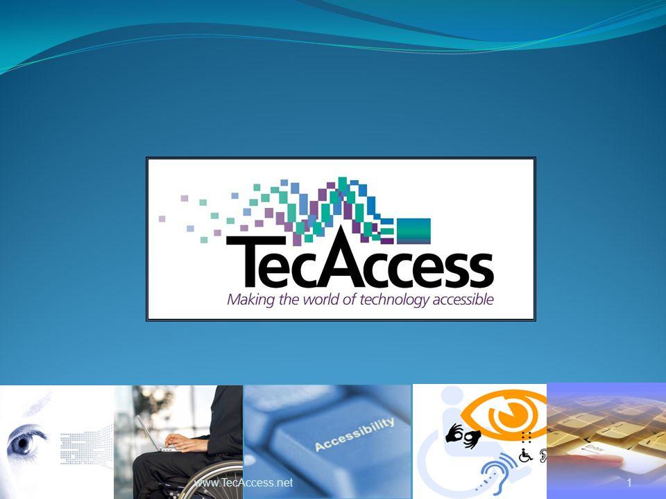 1 www.TecAccess.net