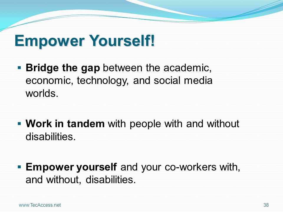 Empower Yourself.