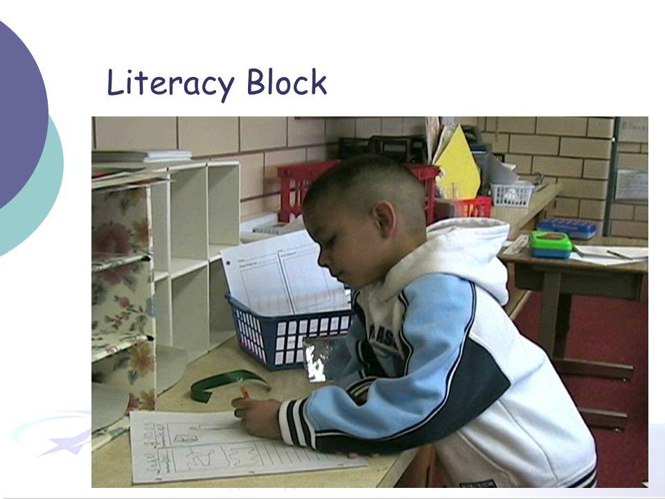 36 Literacy Block