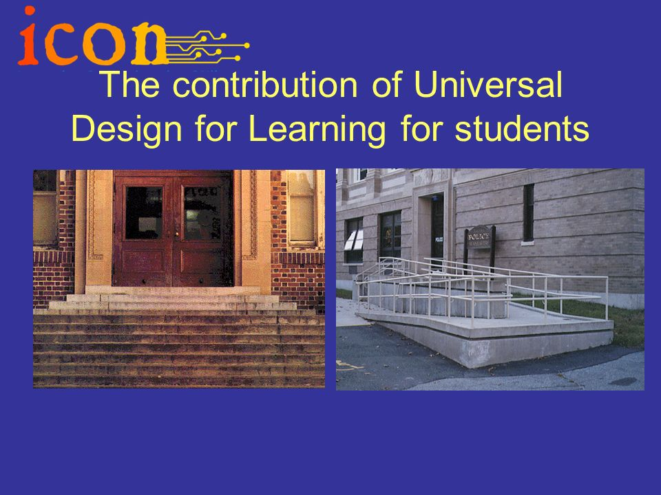 The contribution of Universal Design for Learning for students