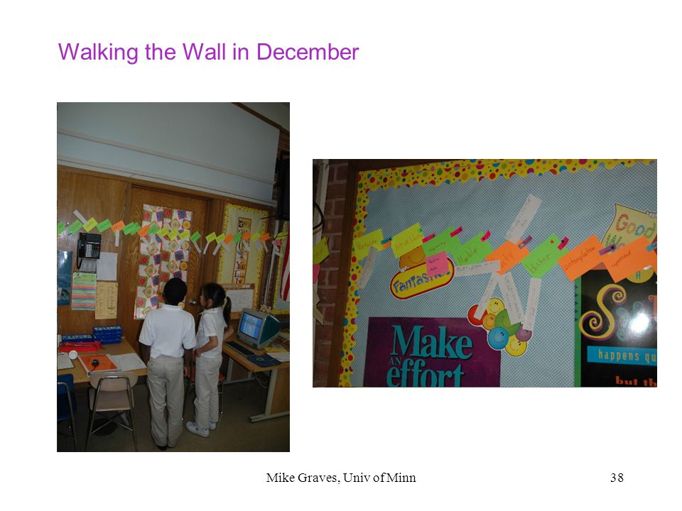 Mike Graves, Univ of Minn38 Walking the Wall in December