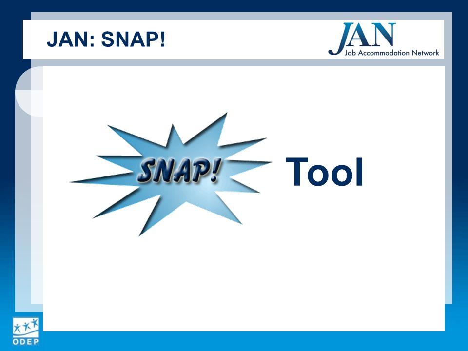 Tool JAN: SNAP!