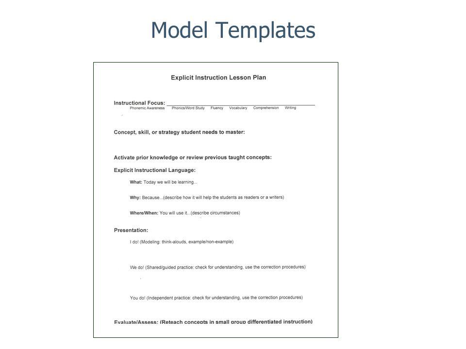Model Templates