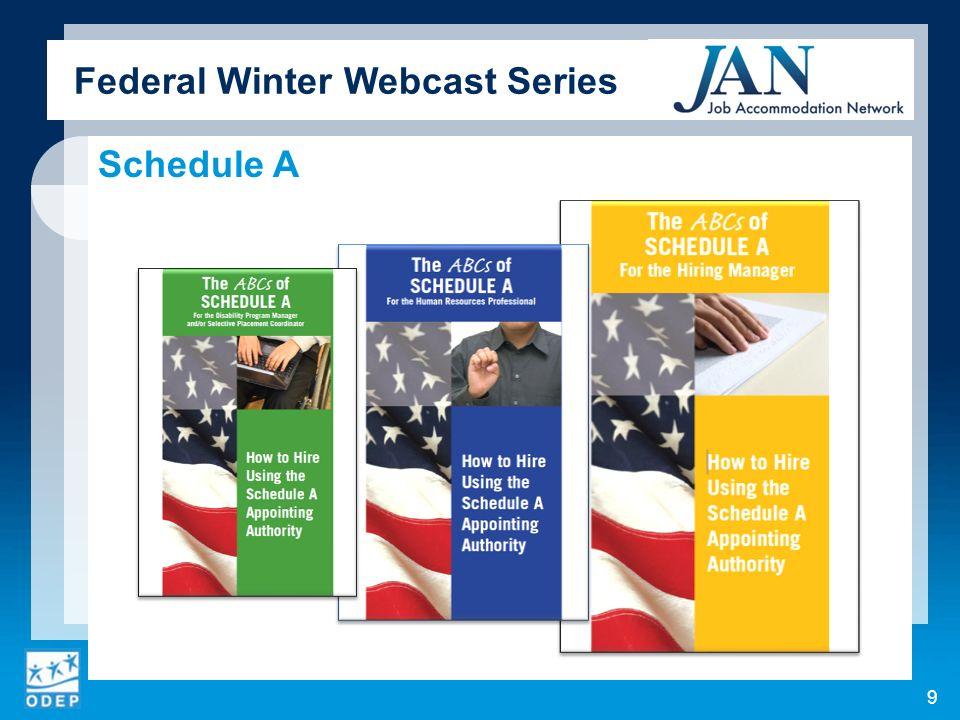 Federal Winter Webcast Series 10