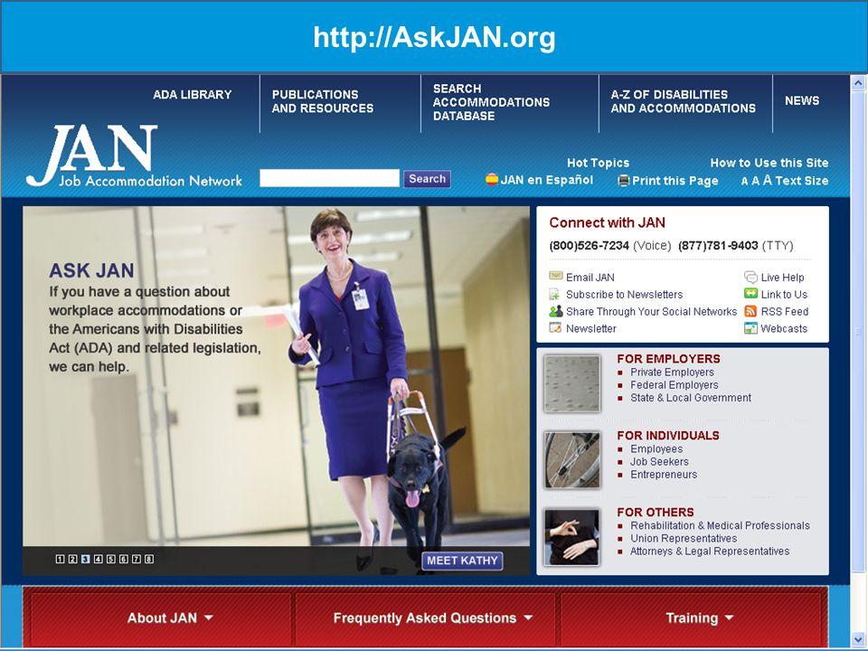 16 http://AskJAN.org