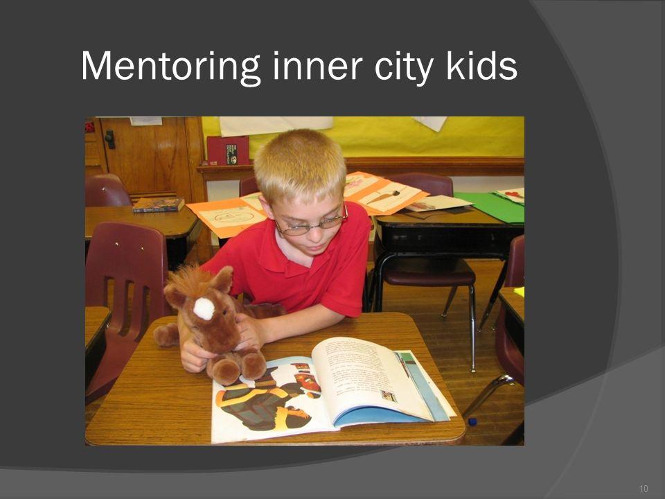 Mentoring inner city kids 10