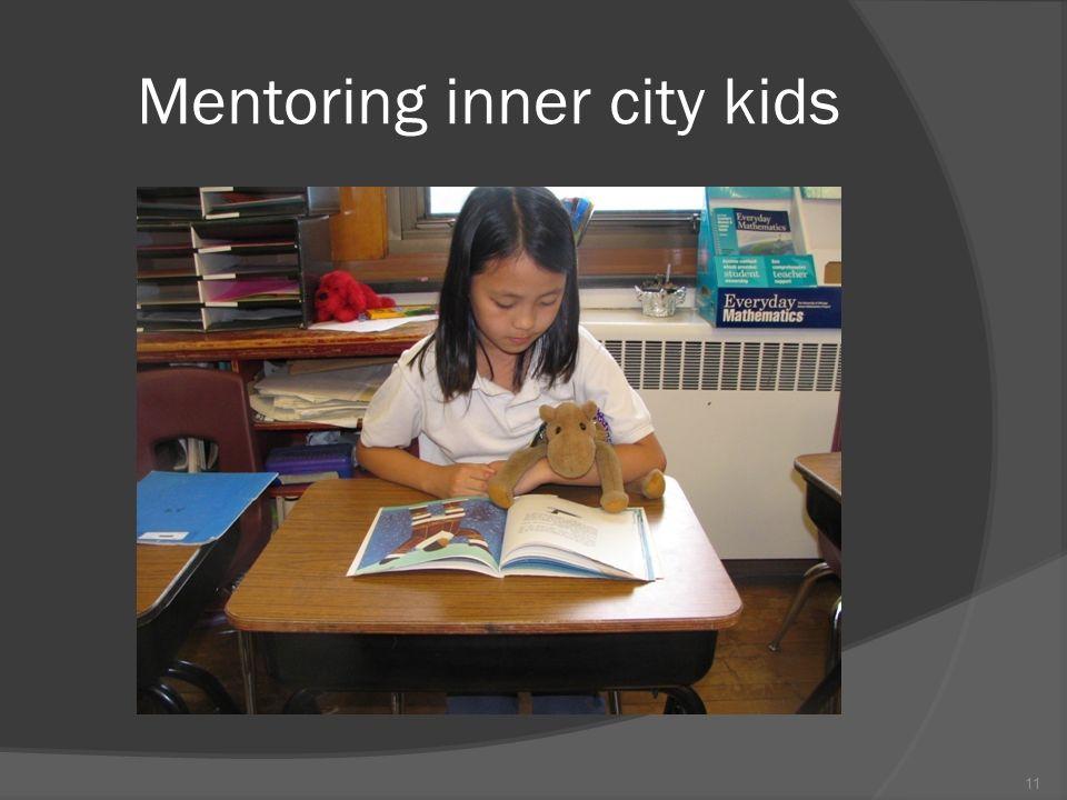 11 Mentoring inner city kids