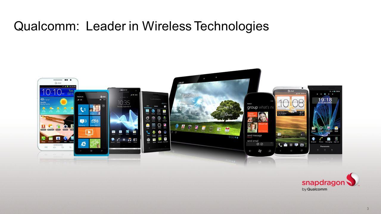 3 Qualcomm: Leader in Wireless Technologies