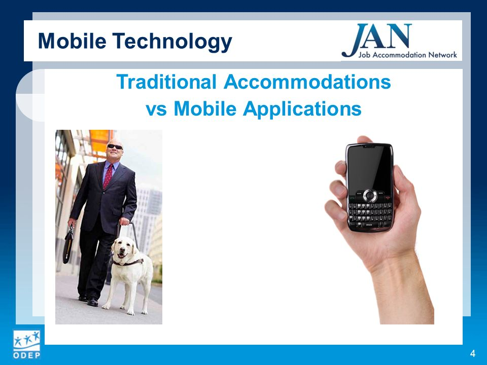Traditional Accommodations vs Mobile Applications Mobile Technology 4