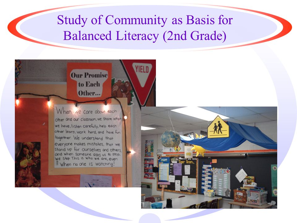 Study of Community as Basis for Balanced Literacy (2nd Grade)