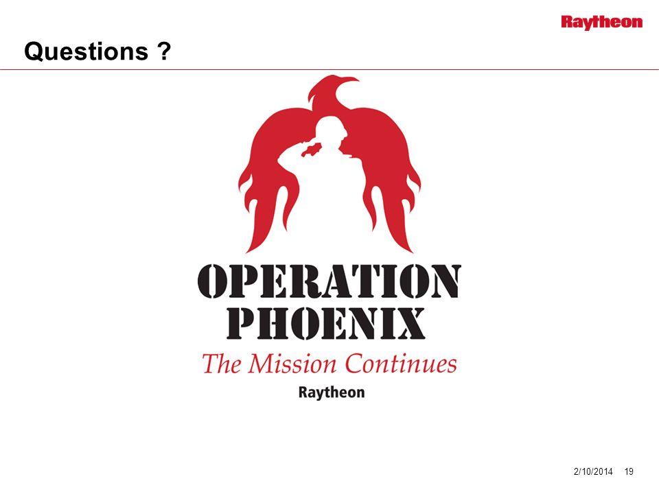 Questions ? 2/10/201419