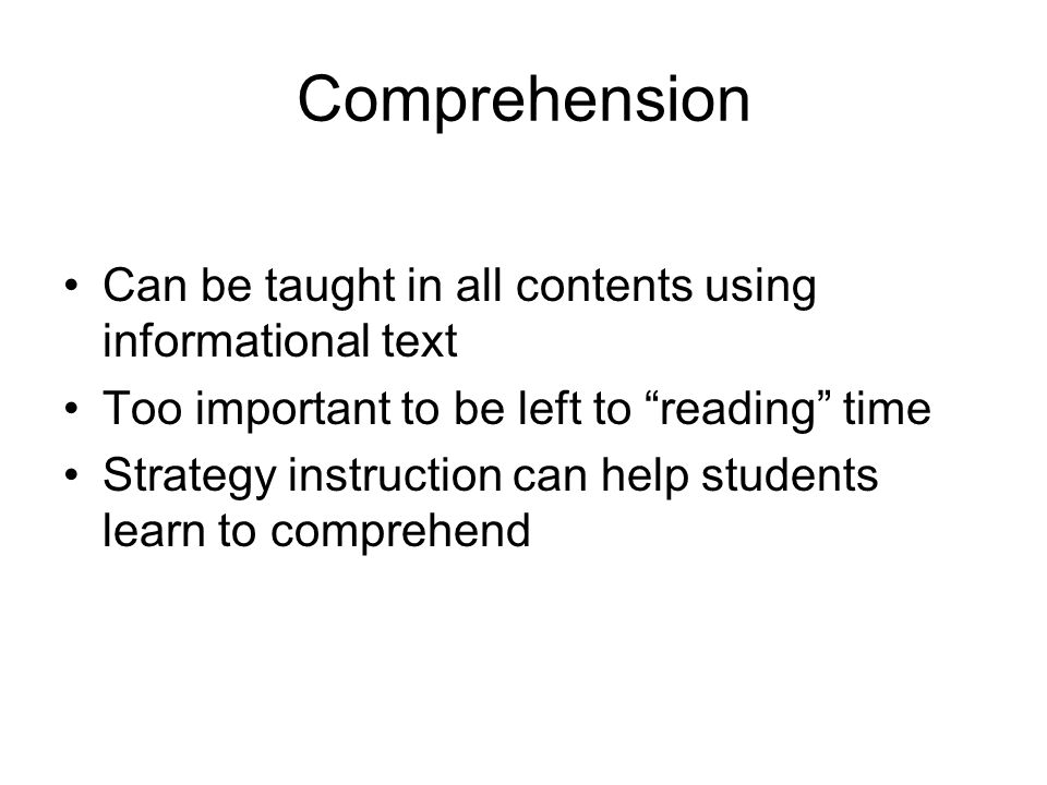Paraphrasing Provides a way to monitor comprehension Connects prior knowledge with the text Encourages deeper processing of text