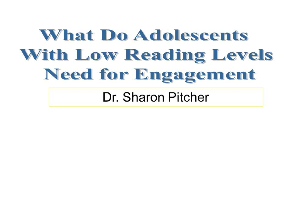 Dr. Sharon Pitcher