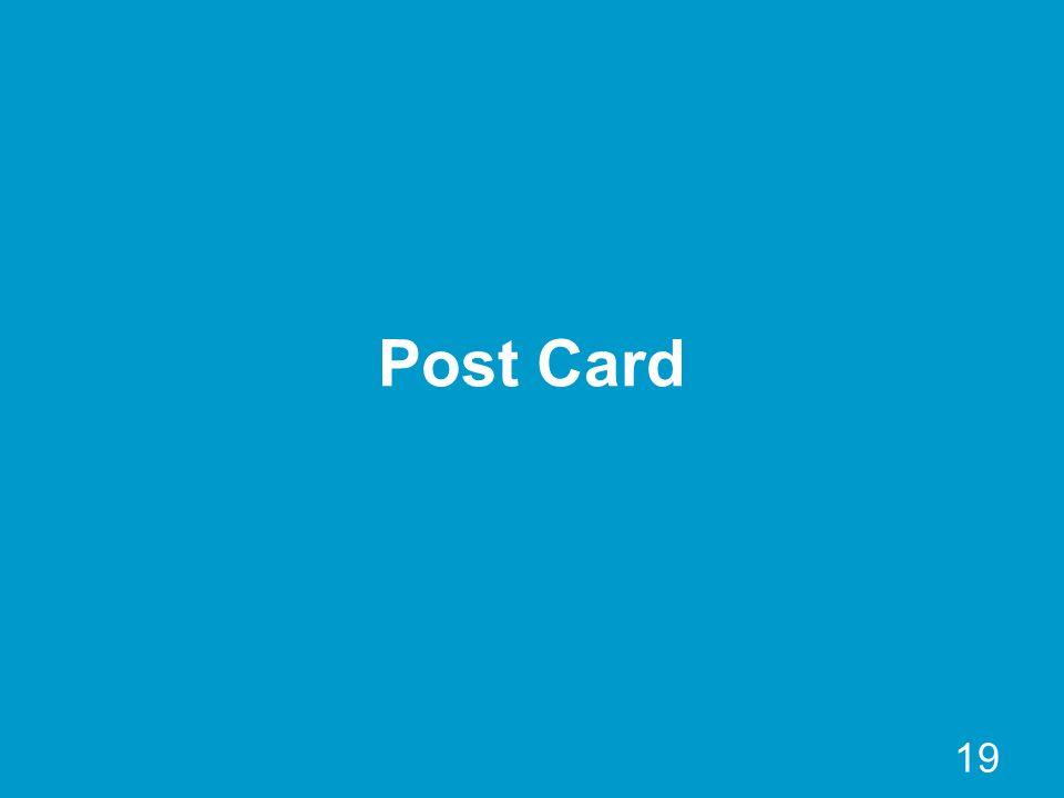 19 Post Card