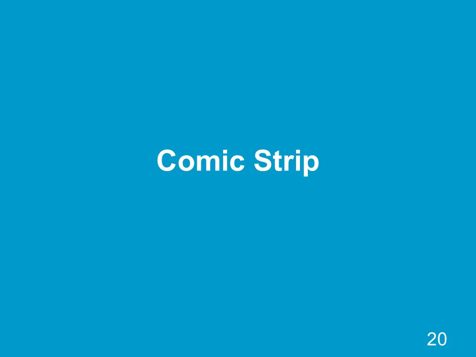 20 Comic Strip