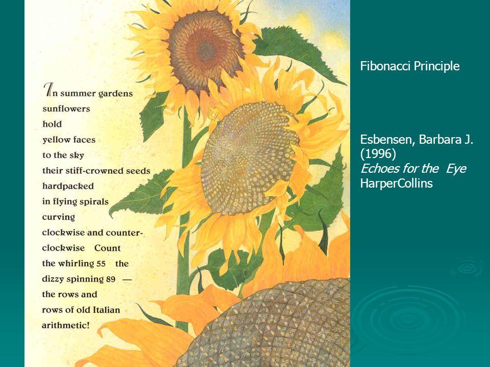 Fibonacci Principle Esbensen, Barbara J. (1996) Echoes for the Eye HarperCollins
