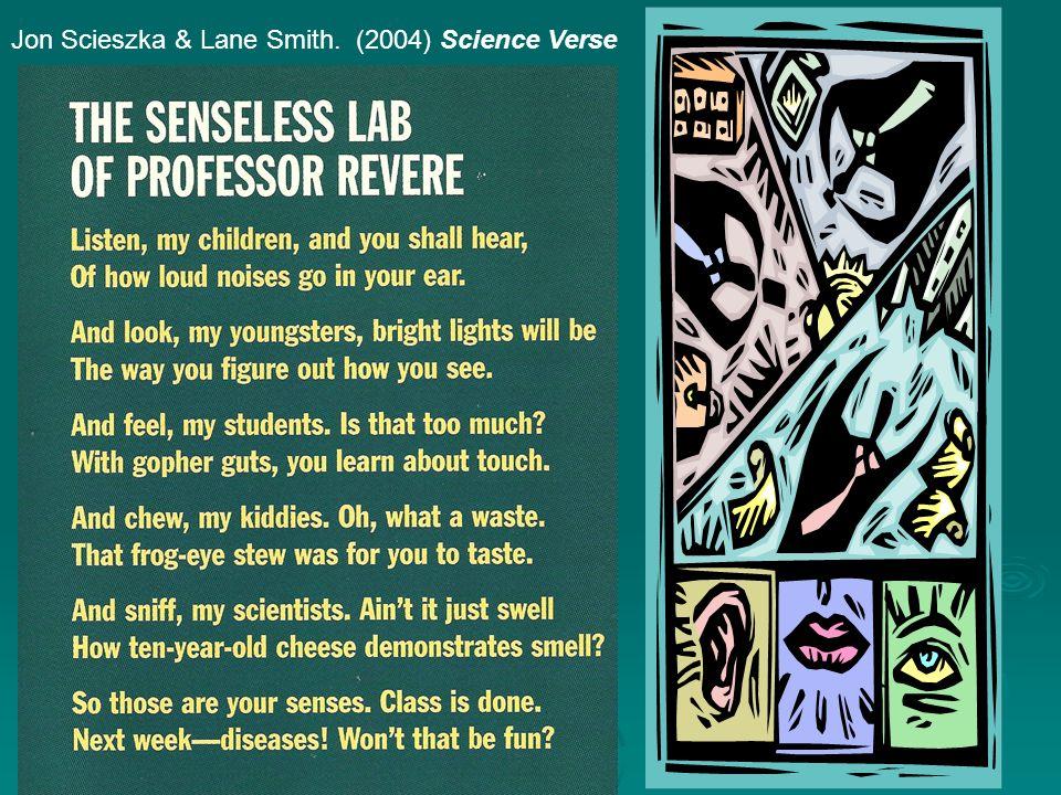 Jon Scieszka & Lane Smith. (2004) Science Verse
