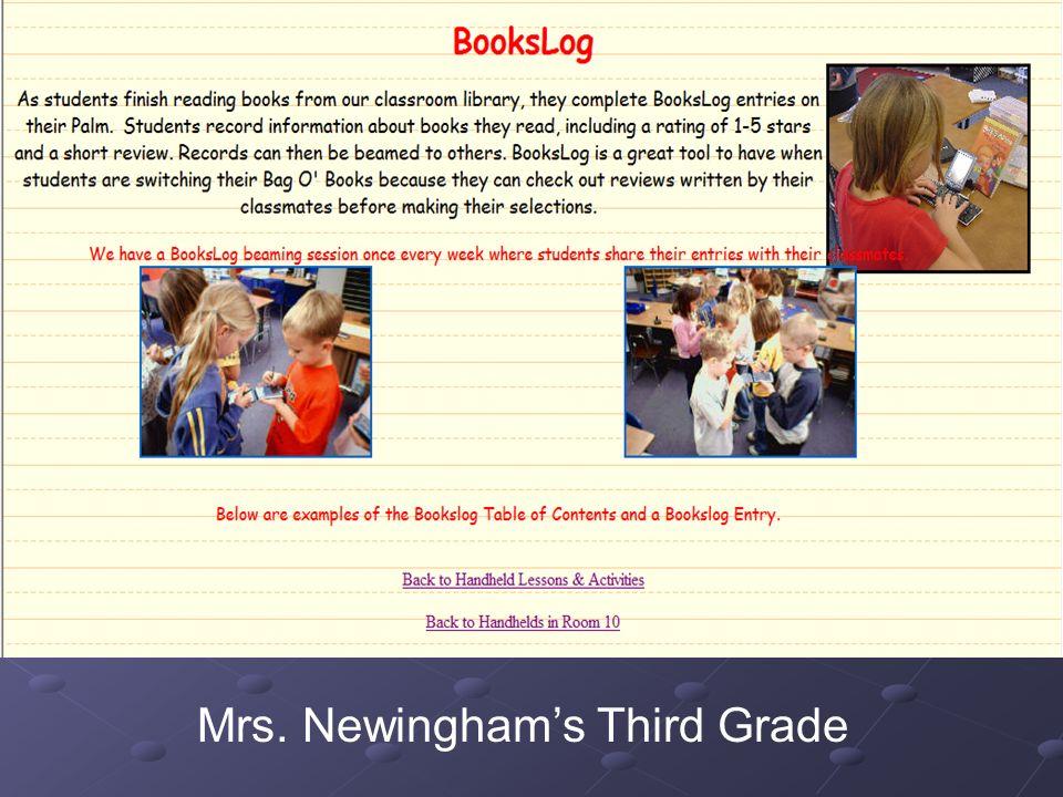 Mrs. Newinghams Third Grade