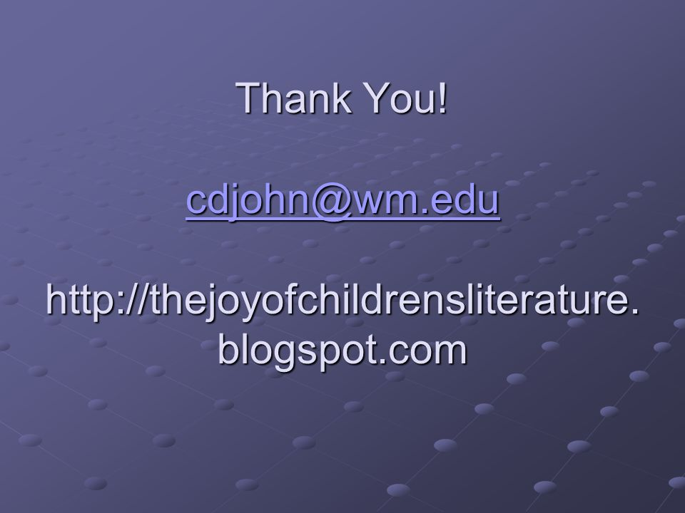 Thank You!   blogspot.com