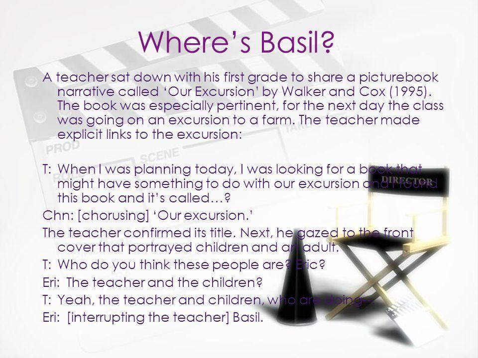 In closing Basil