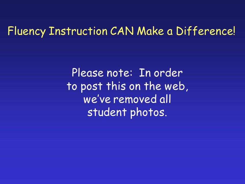 How do you assess fluency.