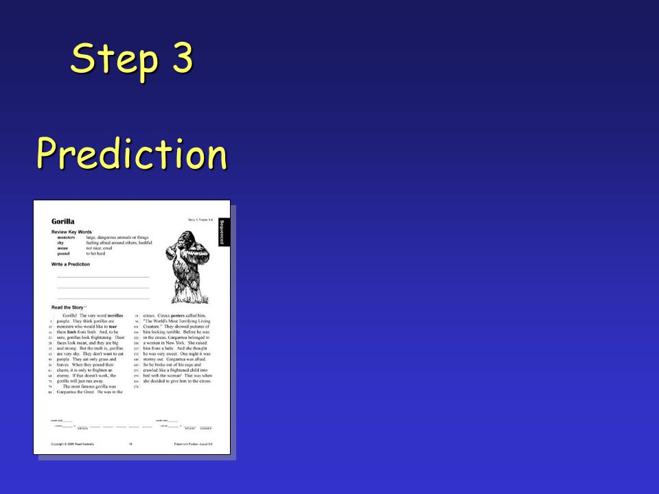 Step 3 Prediction
