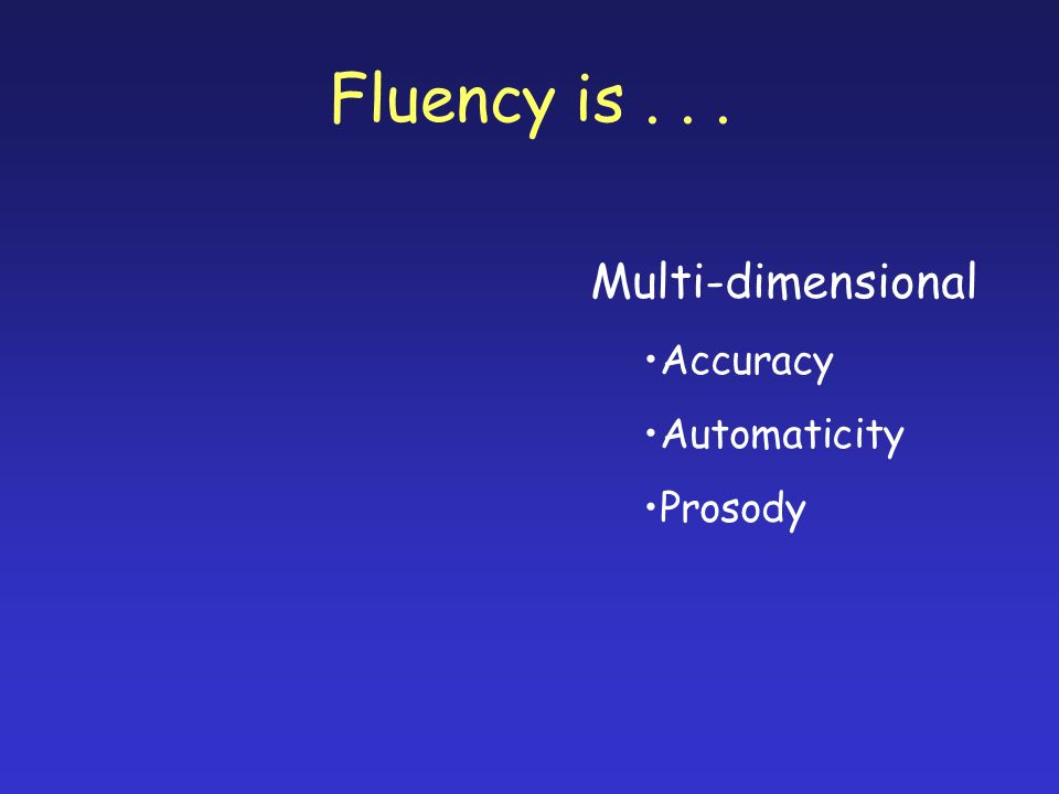 Why is fluency important.Fluency is a bridge that connects decoding to comprehension.