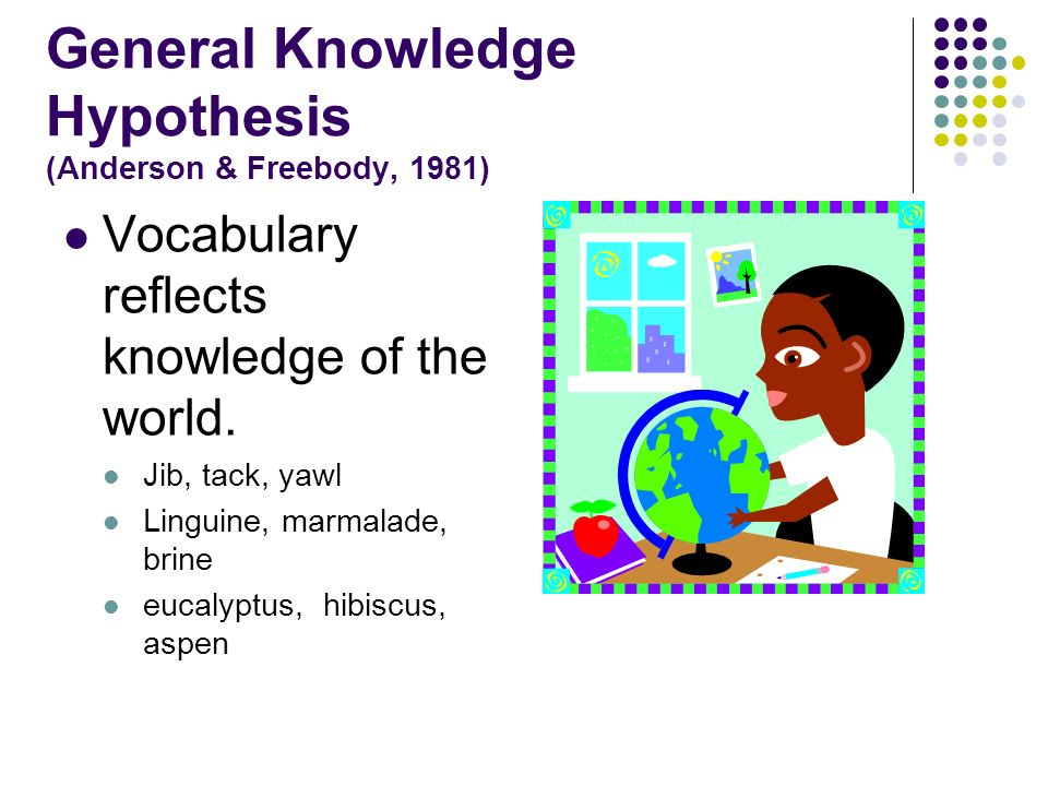RESEARCH-BASED STRATEGIES FOR INTRODUCING VOCABULARY CONSOLIDATING VOCABLARY MARGARET ANN RICHEK Roosevelt University, Chicago IL mrichek@ameritech.net All strategies are referenced in Richek, M.A.