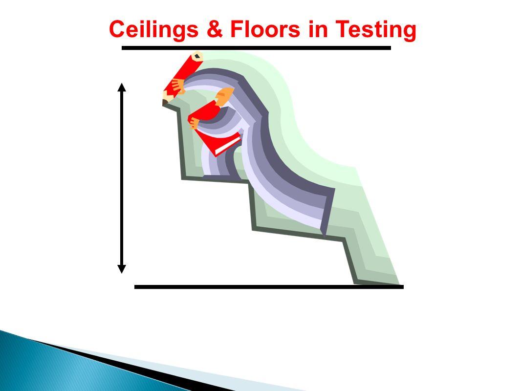 Ceilings & Floors in Testing