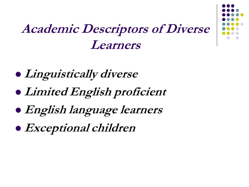 Classroom Literacy Assessment Activity 1 Potential changes to support diverse learners
