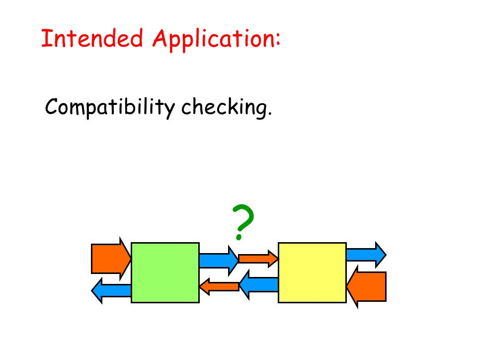 Compatibility checking.