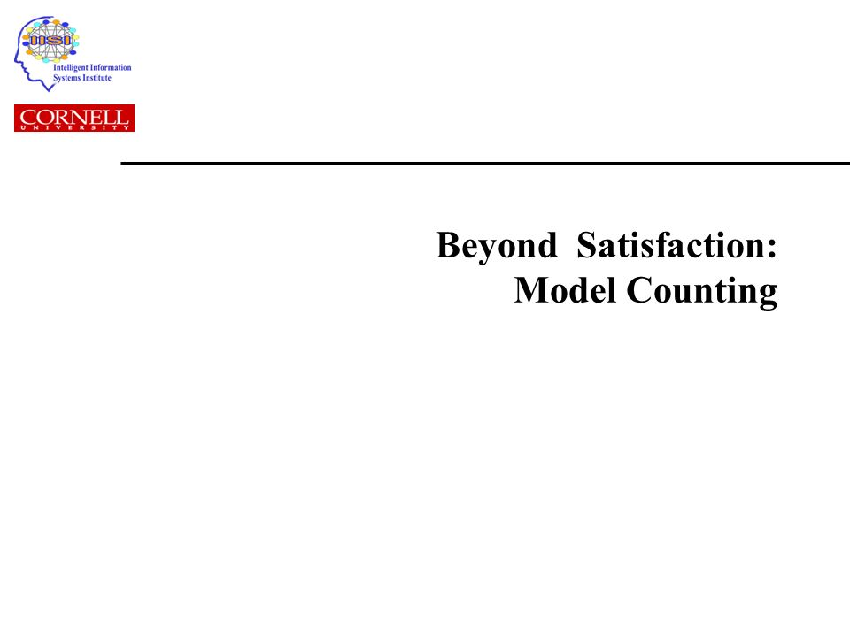 Beyond Satisfaction: Model Counting