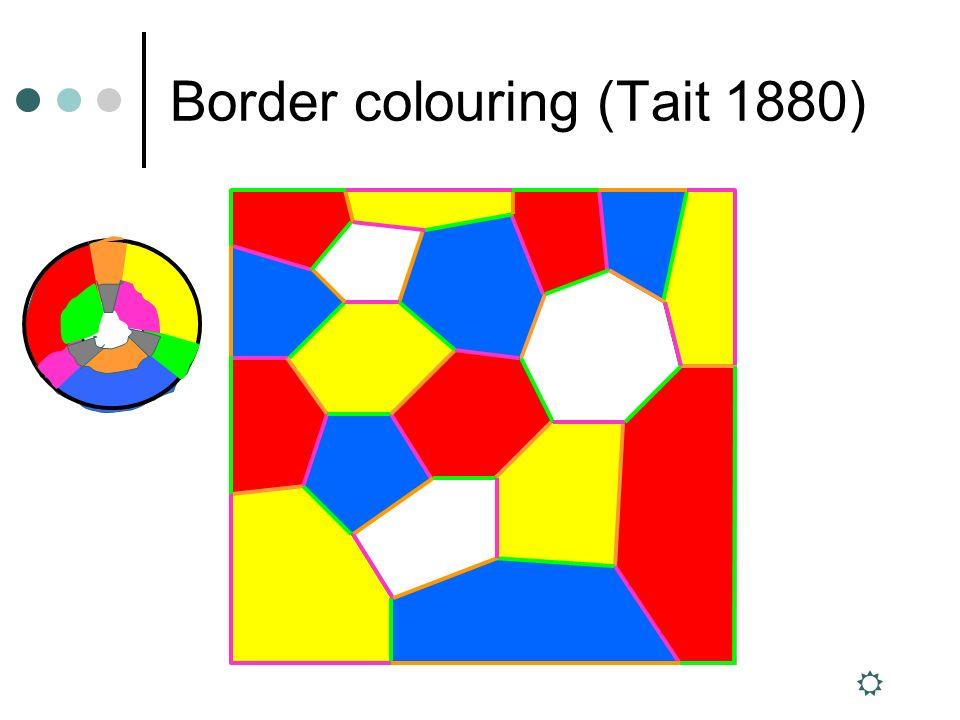 Border colouring (Tait 1880)