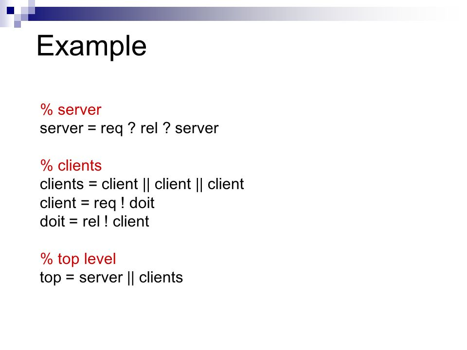 Example % server server = req . rel .