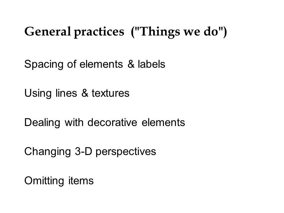 General practices (