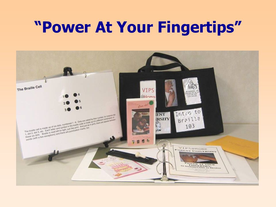 Power At Your Fingertips