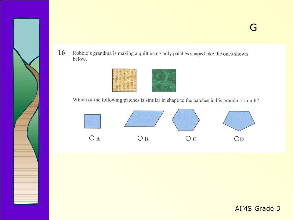 AIMS Grade 3 G