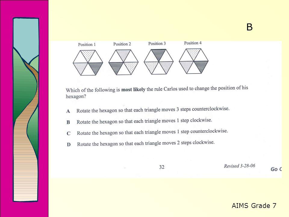 AIMS Grade 7 B