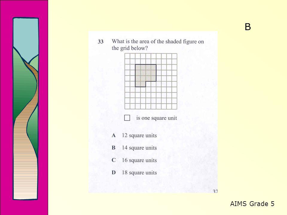 AIMS Grade 5 B