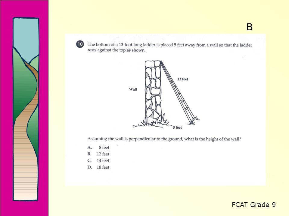 FCAT Grade 9 B