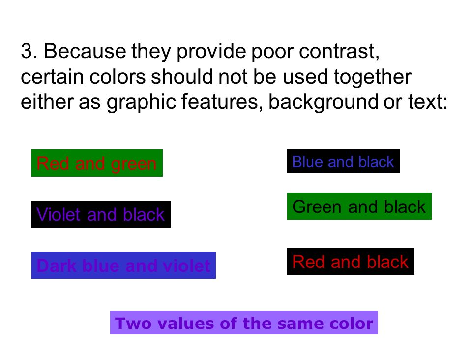 1. Each large print user should have access to large print that is at least 18 points in size; for testing, graphics should have their smallest graphi