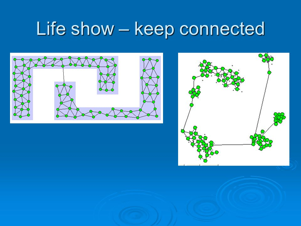 Life show – keep connected