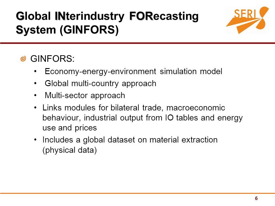 17 Resource-intensive sectors loose out EU Exports: impacts of scenario SH3