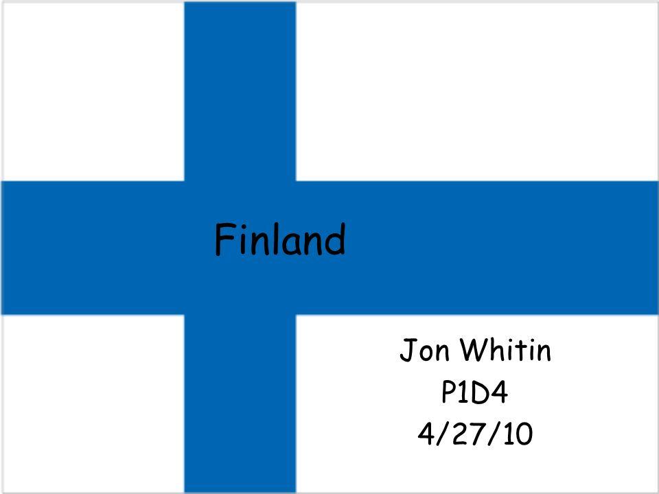 Finland Jon Whitin P1D4 4/27/10