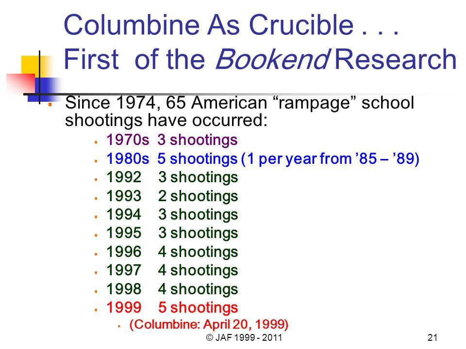 Columbine As Crucible...