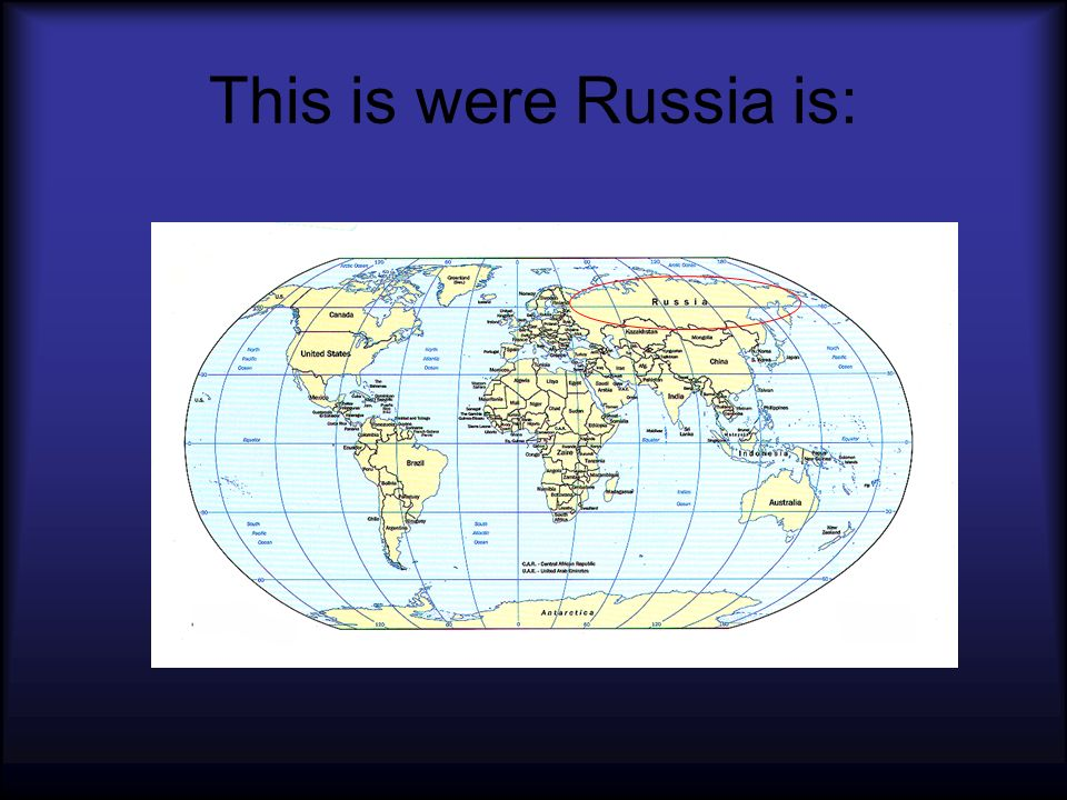 Heres a closer look at Russia