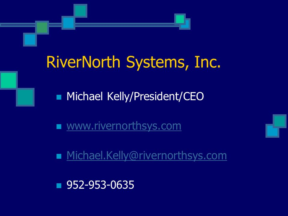 RiverNorth Systems, Inc.