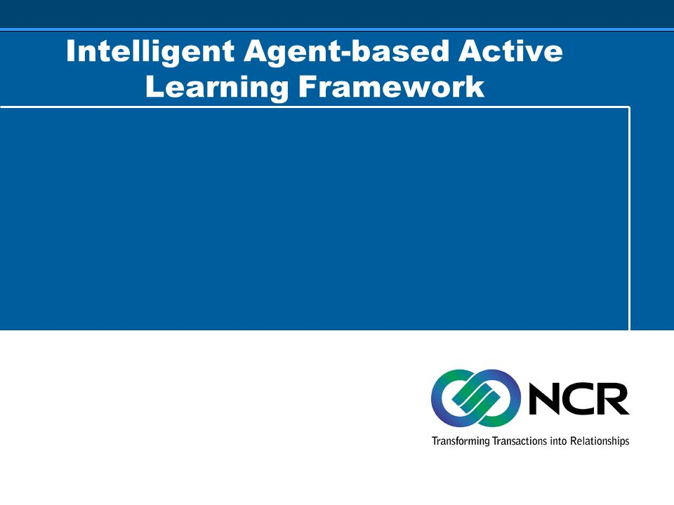Intelligent Agent-based Active Learning Framework