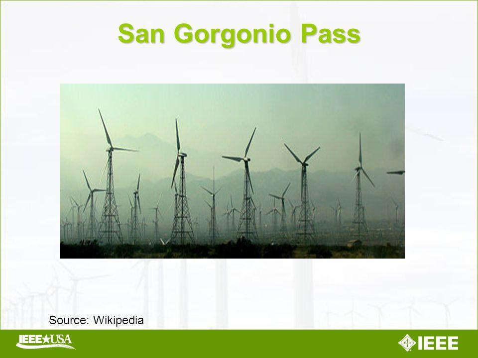 San Gorgonio Pass Source: Wikipedia