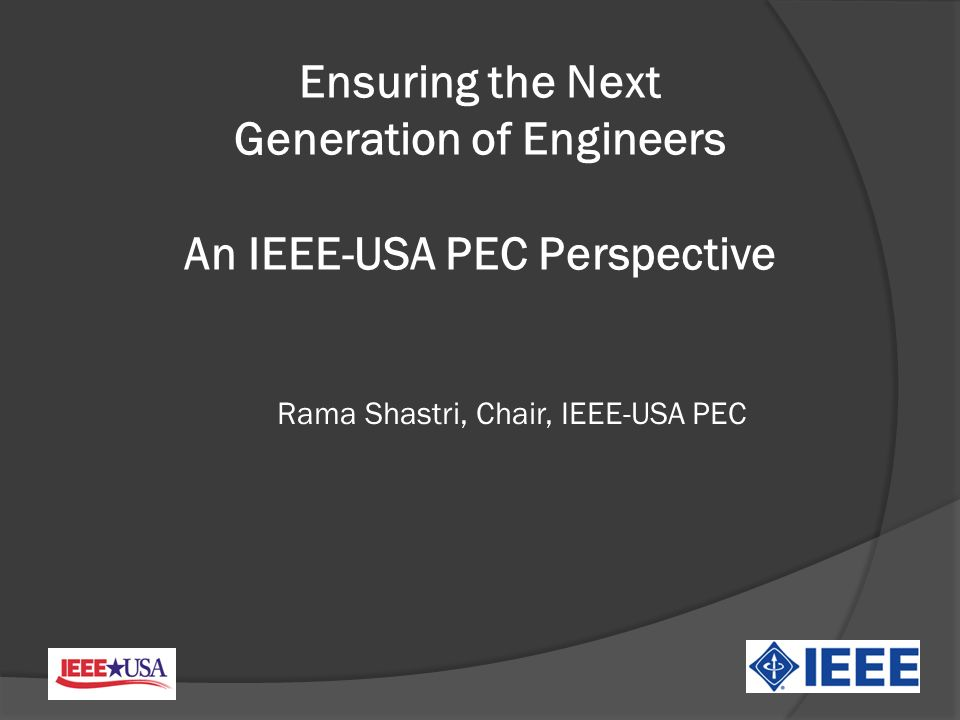 Partnership with PECC Calling all Engineers in Region 5!!.